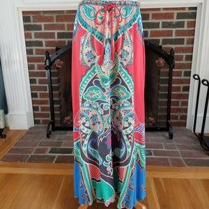 Gorgeous Boho Maxi Skirt ***Flaws***